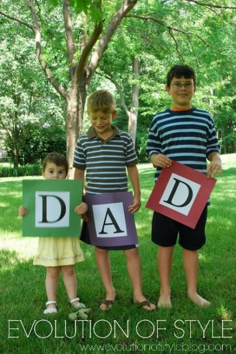 Fathers Day Photo Gift Idea