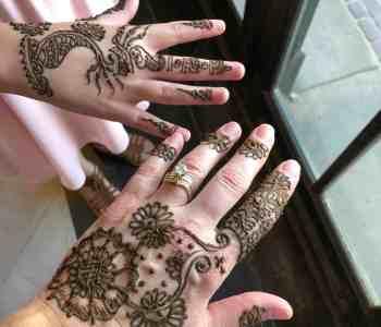 Indian Wedding Henna Tattoo