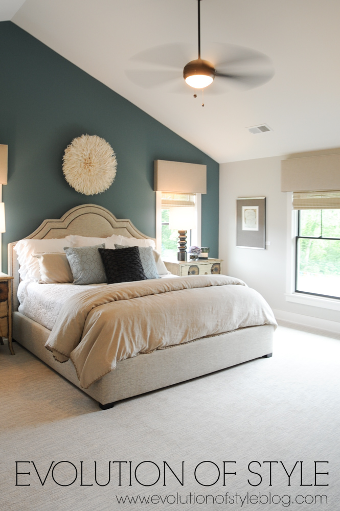 Modern farmhouse bonus bedroom