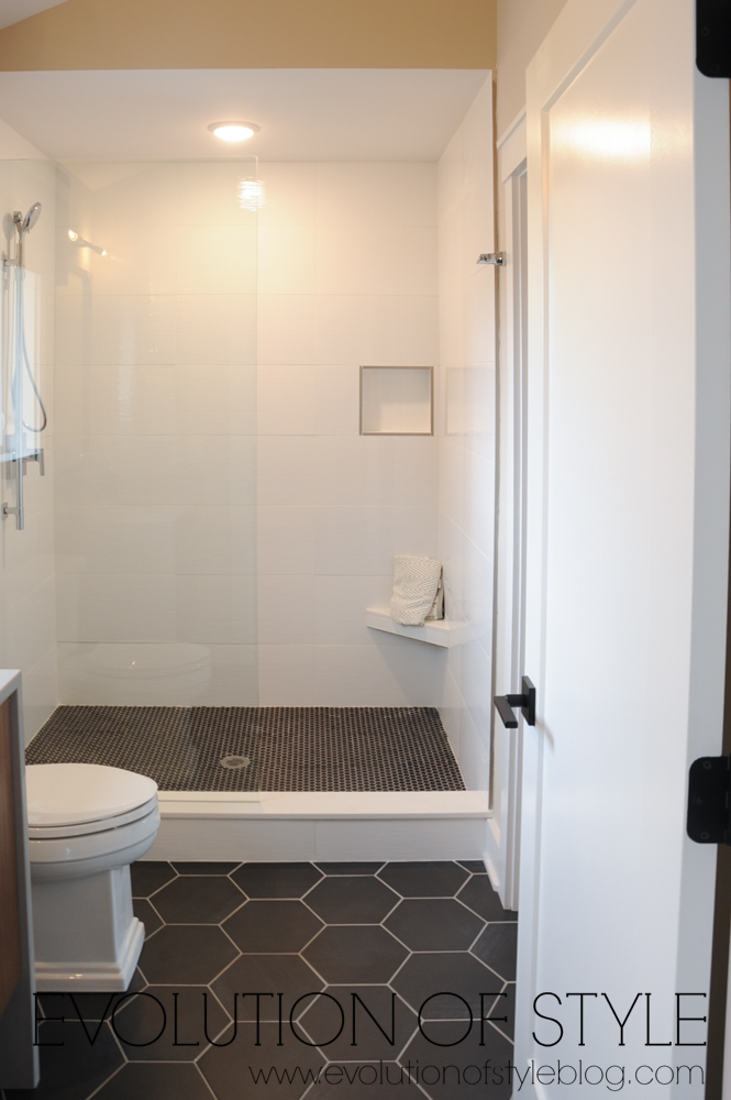 Modern farmhouse bonus bathroom