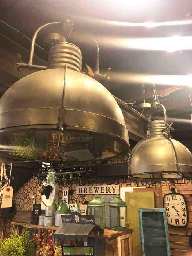 Large Scale Vintage Lighting
