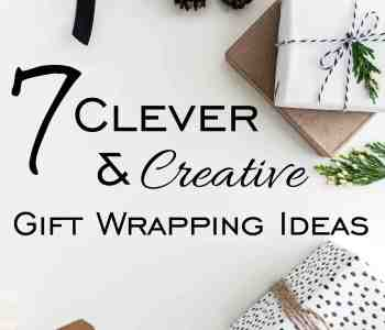 7 Clever and Creative Gift Wrapping Ideas