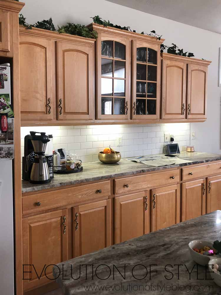 Mindful Gray Painted Cabinets