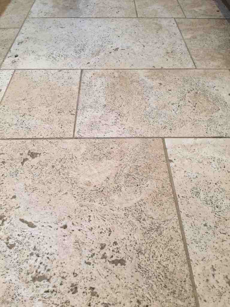 Oreck Orbiter Travertine Tile Floor Cleaning