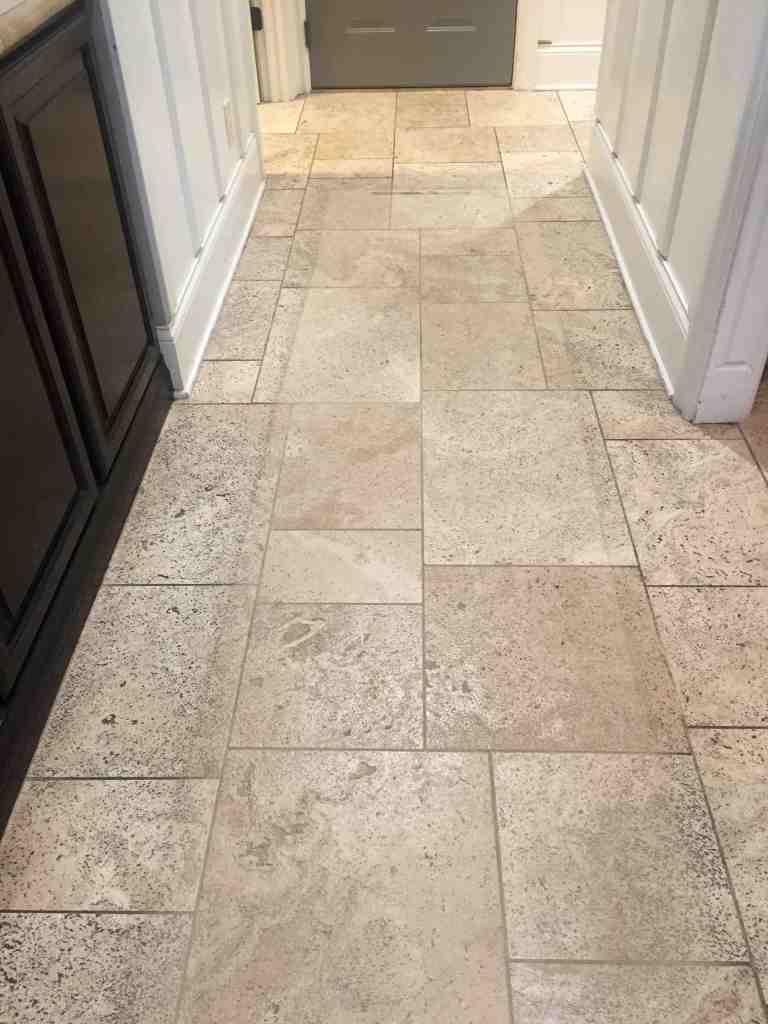 Oreck Orbiter - Cleaning a Tile Floor