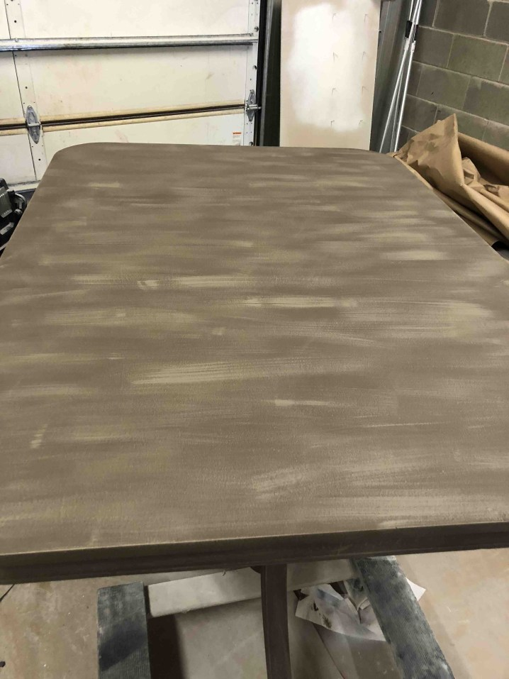 Dining Room Table Base + Paint Mix