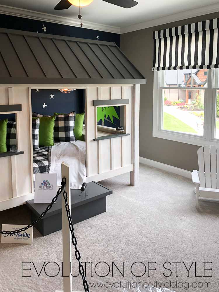 2019 Homearama Day Five - The Nantucket - Playhouse Kid's Room