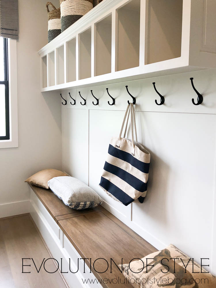 Modern Farmhouse Mud Room