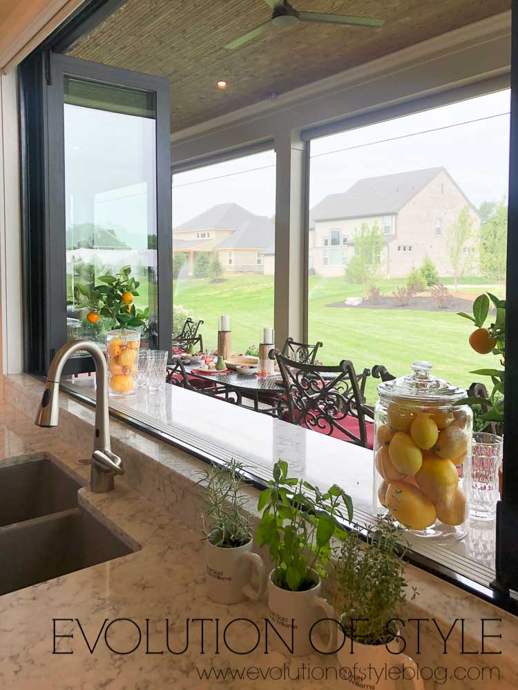 2019 Homearama Day One - Open Kitchen Window