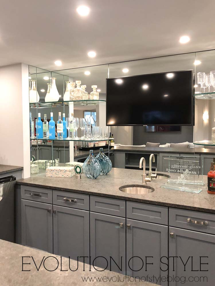 2019 Homearama Day Three - Basement Bar