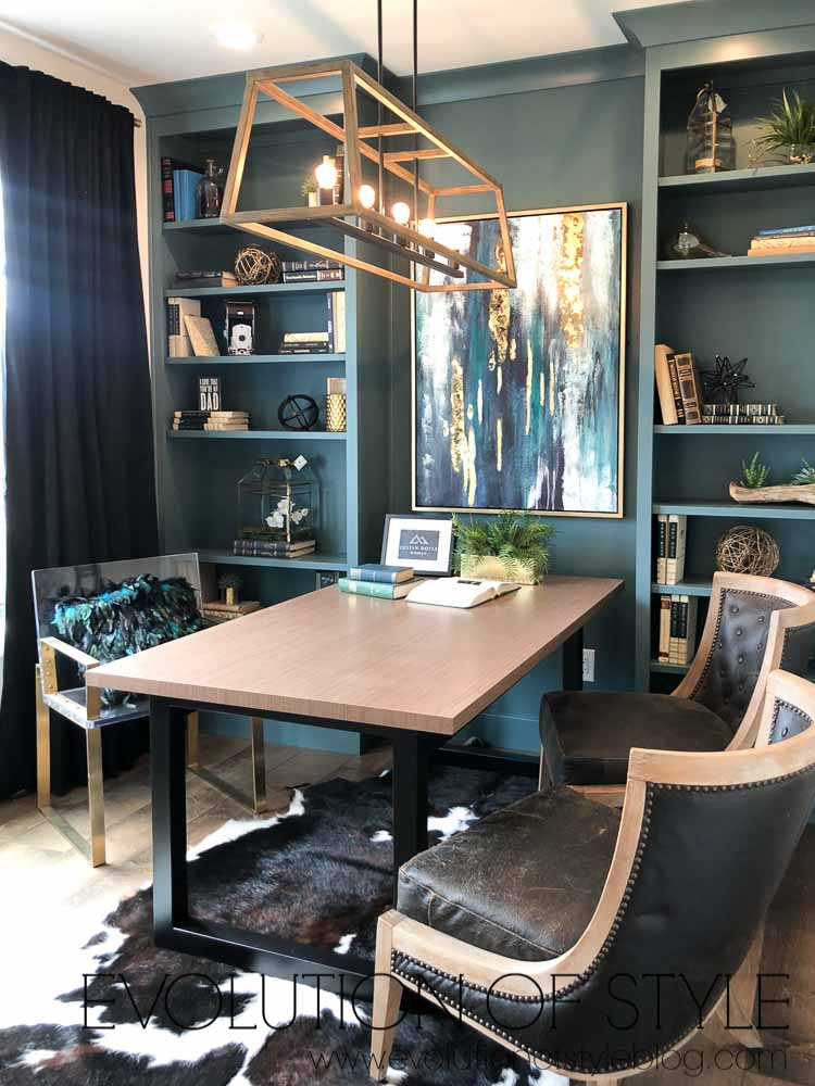 2019 Homearama - Rich Green Home Office