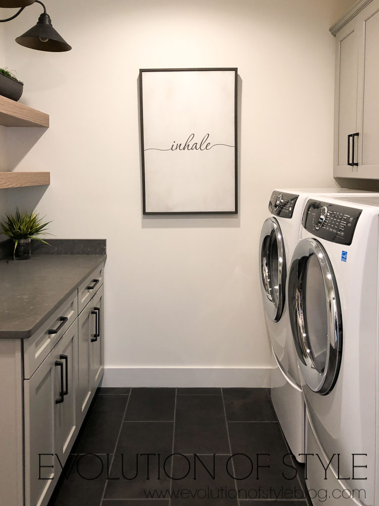 2019 Homearama Day Two - Gray Laundry Room