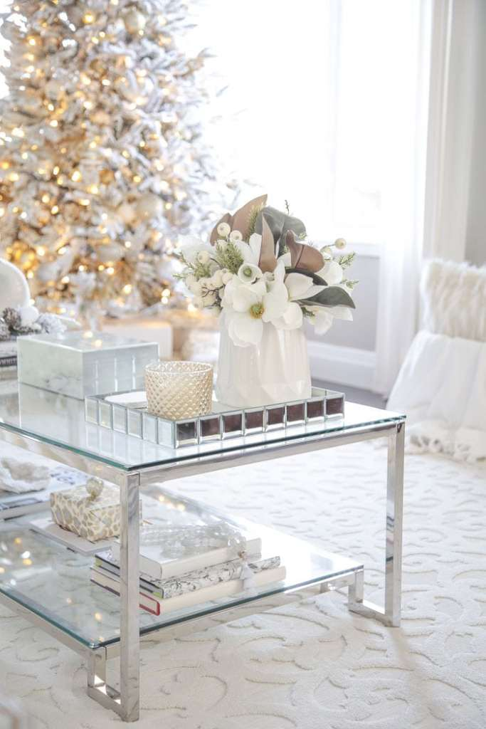 Setting For Four - Holiday Living Room
