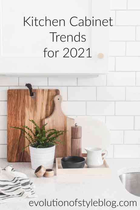 Kitchen Cabinet Trends 2021