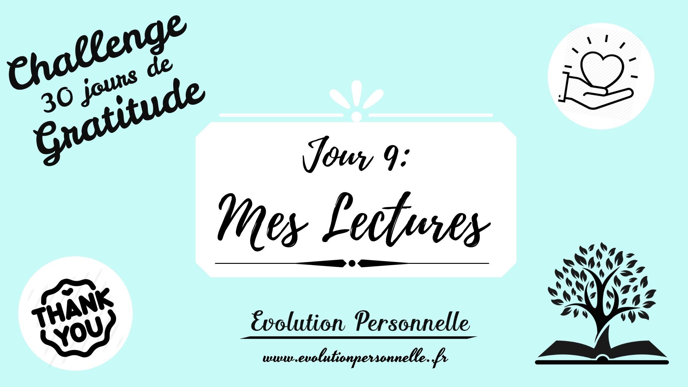 mes lectures challenge gratitude