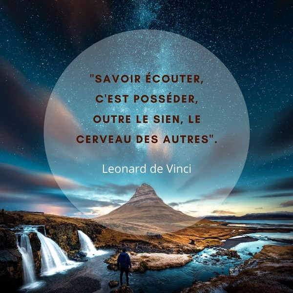 citations courtes Leonard de Vinci