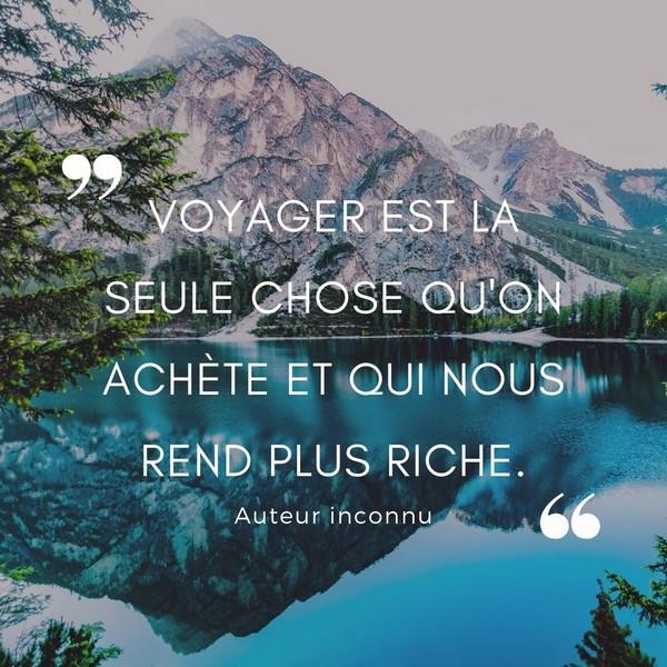 phrase inspirante voyage