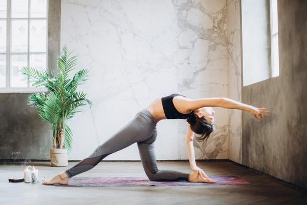 yoga routine du matin