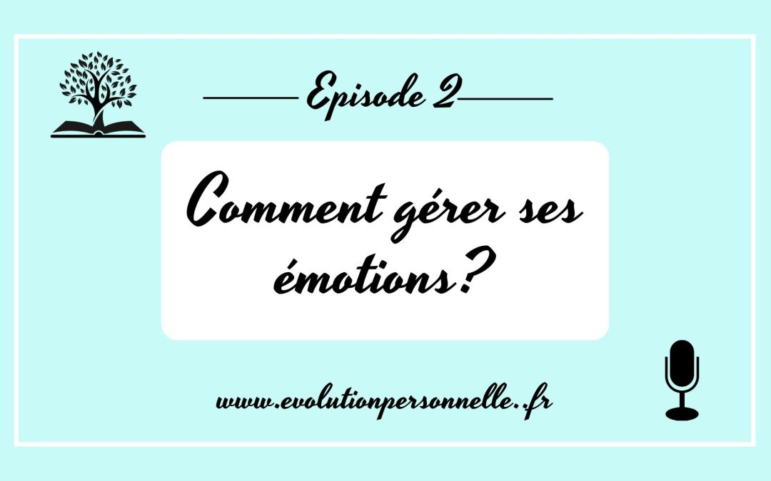 Podcast #2 Comment gérer ses émotions?