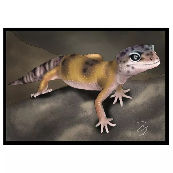 Leopard Gecko Greeting Card