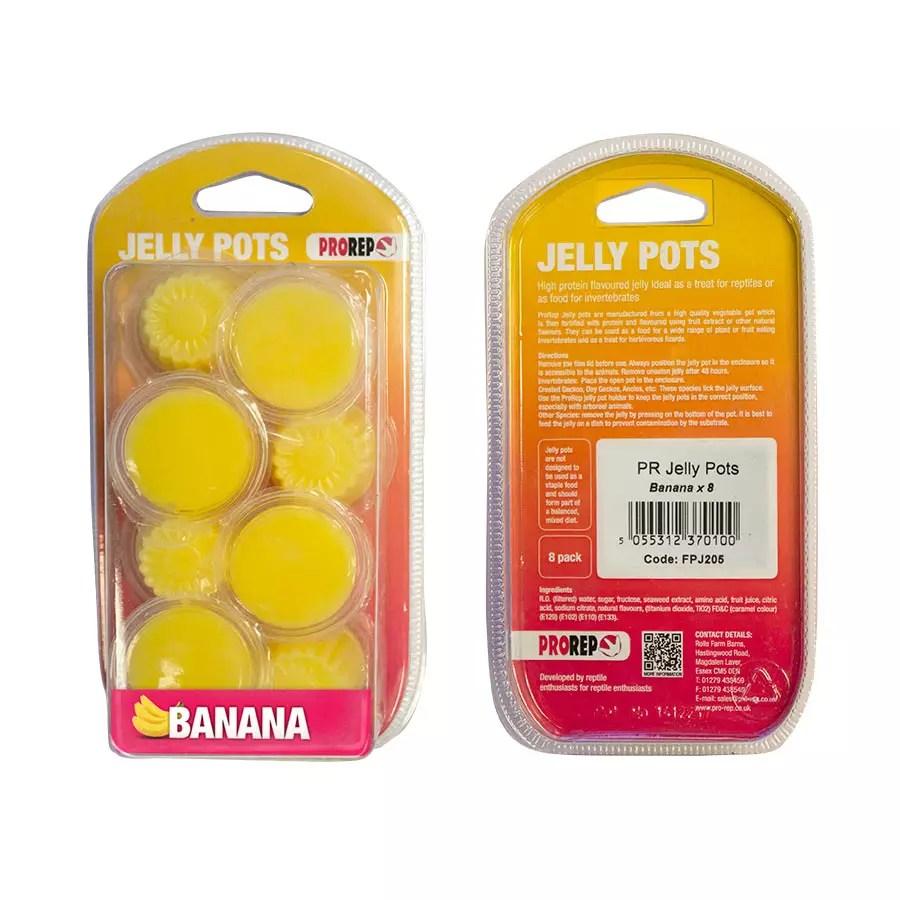 ProRep Jelly Pots, 17g Banana 8-pk Blister