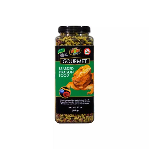 ZooMed Gourmet Bearded Dragon Food 425g, ZooMed-104E