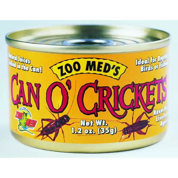 ZooMed Can O' Crickets 34g