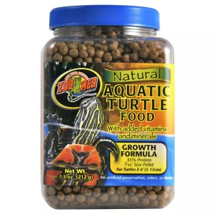 ZooMed Aquatic Turtle Food Growth, 213g