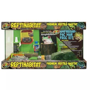 ZooMed ReptiHabitat Amphibian Pac Man Frog Kit