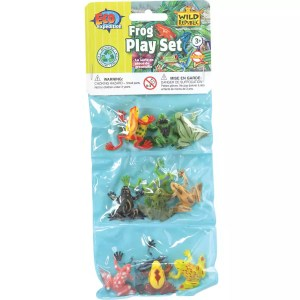 Wild Republic Plastic Toys Playset: Frogs (12)