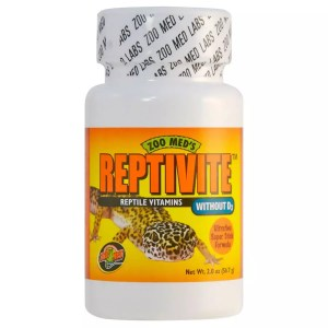 ZooMed Reptivite WITHOUT D3  56.7g, A35-2