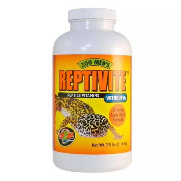 ZooMed Reptivite WITHOUT D3  226.8g, A35-8