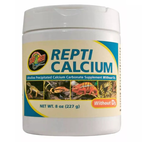 ZooMed Repti Calcium WITHOUT D3 227g