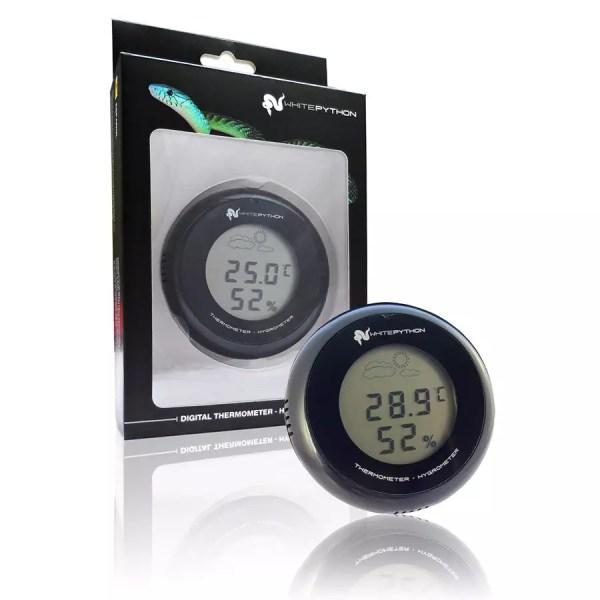 White Python Digital Thermo / Hygrometer