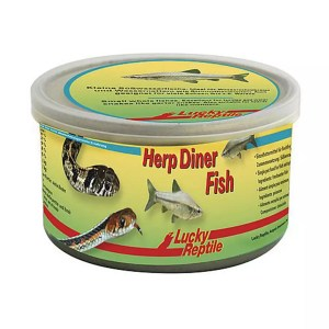 Lucky Reptile Herp Diner Fish Blend, 35g