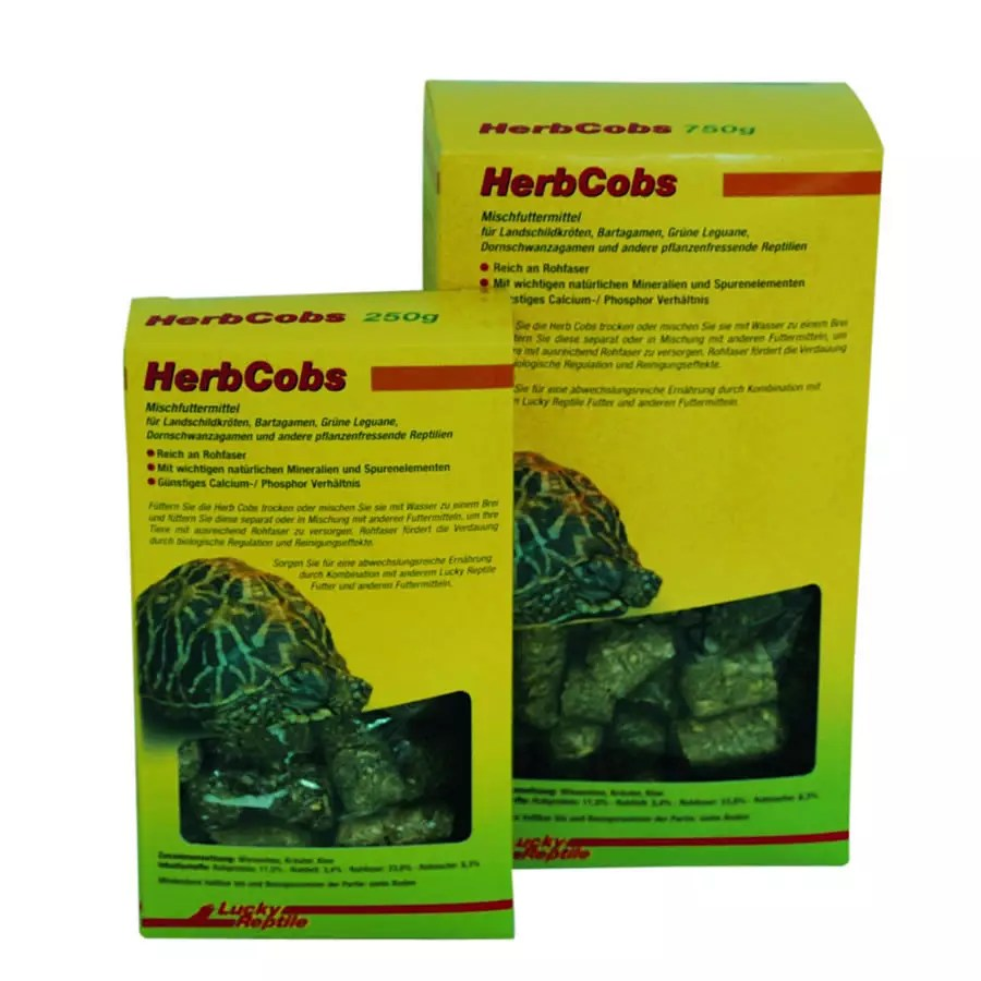 Lucky Reptile Herb Cobs 250g