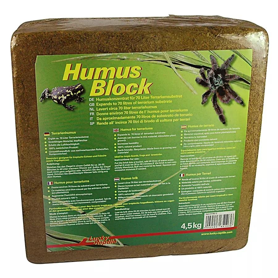 Lucky Reptile Humus Block 4.5Kg