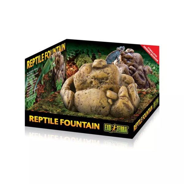 Exo Terra Reptile Fountain Dish with pump