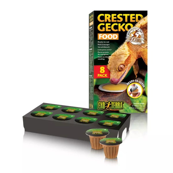ET Crested Gecko Food 8 pack - Ready to serve