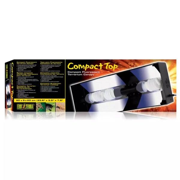 Exo Terra Compact Top Canopy 60cm