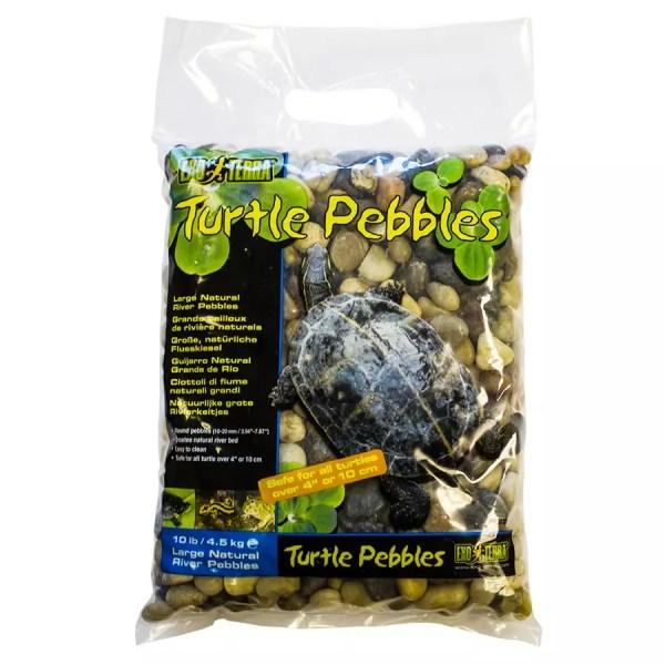 Exo Terra Turtle Pebbles Large 10-20mm 4.5Kg