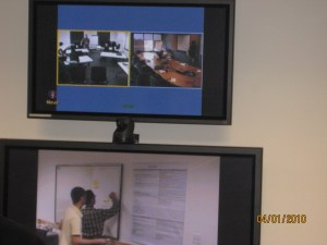 Virtual Parkbench setup camera feeds