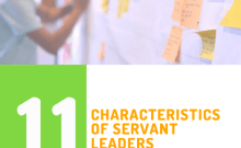 Cover 11 characteristics of servant leader