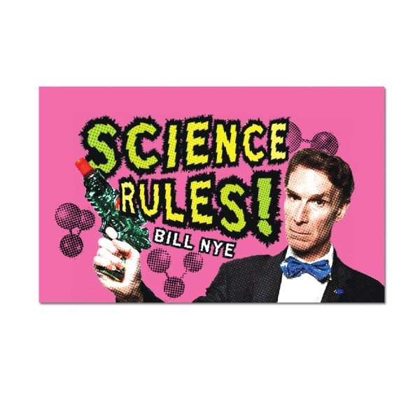 Science Rules - Bill Nye Magnet