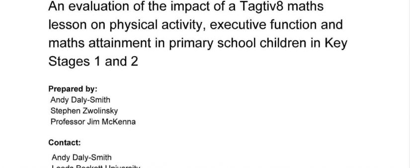An evaluation of the impact of a Tagtiv8 maths lesson on