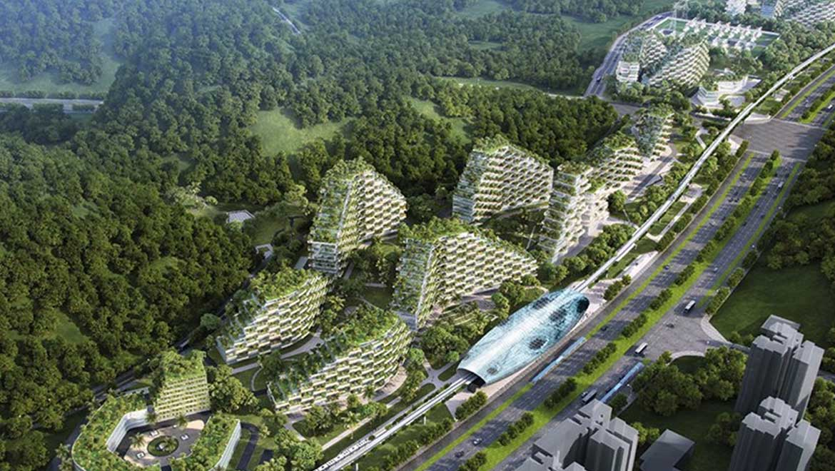 Internet Of Things Diagrams Forests In The Sky China To Build A Vertical Forest City