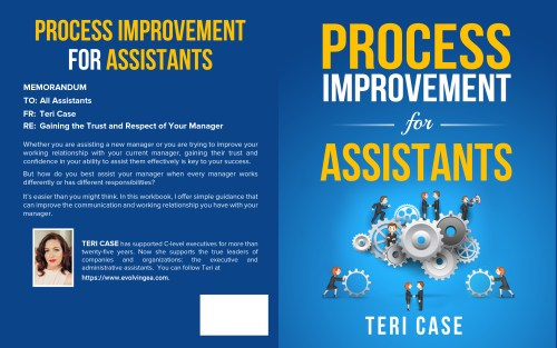 Process Improvement for Assistants by Teri Case