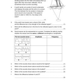 Sound Worksheet [ 1157 x 961 Pixel ]