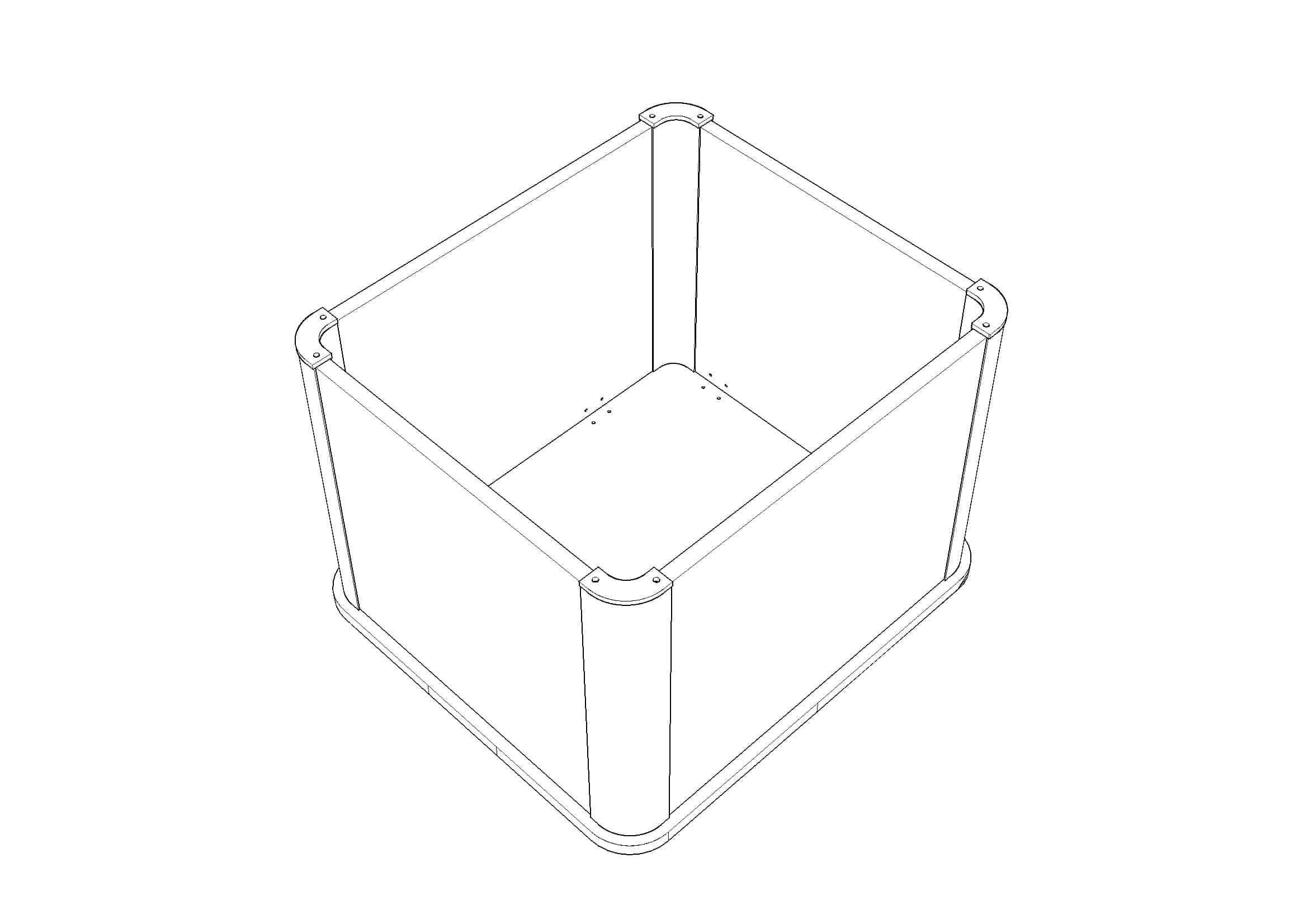 Toilet Box Cover Flat Pack