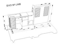 EVO 5.4F – Curved Kit – Front loading fridge